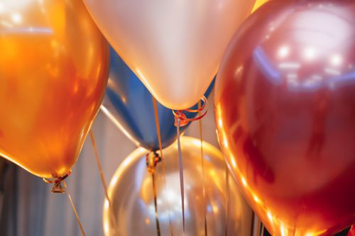 Chrome Luftballons